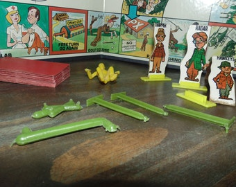Vintage 1975 Mash Board game pieces only Transogram No. 1349