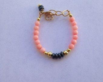 Coral Baby Bracelet