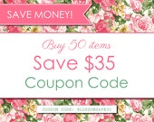 Digital Paper PACK - COUPON CODE - Buy 50 items and save 35 usd. (Please Do not purchase this listing)