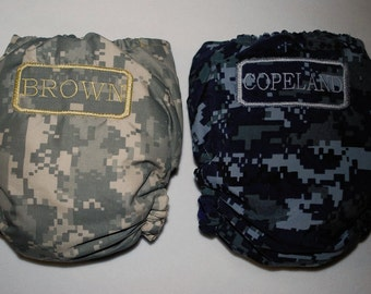Customized Navy, Marines, or Army OS Pocket Diaper