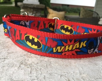 "Salty is a Superhero 1.5"" Martingale Collar"