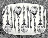 Spoon Cavalieri melamine platter