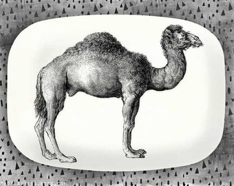 Camel No. 2 serving melamine platter