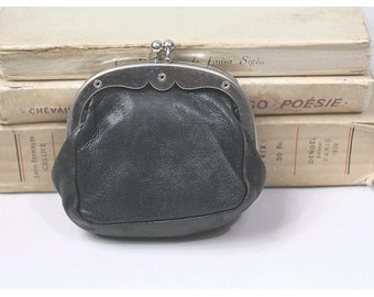 1930 french leather money purse