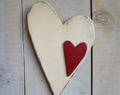Primitive Heart Wall Hanging