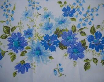 Vintage Pillowcase, Lovely Floral Design, Springmaid