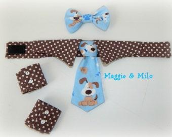 Dog Clothing, Boy Dog Clothing, Dog Bow Tie, Dog Tie, Pet Photo Props, Dapper Dog