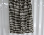 Houndstooth Shorts - Vintage Wool Houndstooth Shorts - Sloane Peterson Shorts - Houndstooth Walking Shorts - Free Shipping - 1PTT16