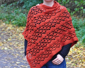 The Picante Wrap - Instant Download PDF Crochet Pattern
