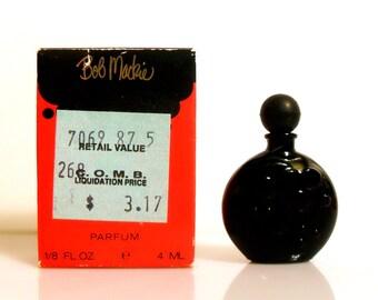 Vintage 1980s Bob Mackie by Bob Mackie 0.125 oz Parfum Miniature Mini PERFUME