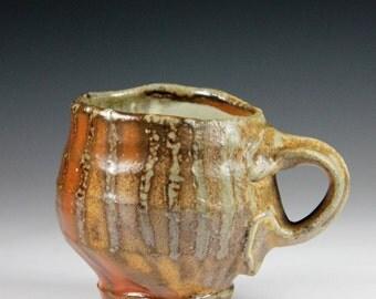 Allison's striped mug