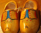 Dutch Wooden Shoes - Painted