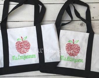 Teacher bags | Etsy