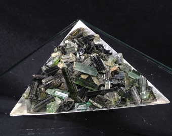 Green Tourmaline Crystal