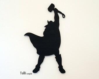 Superhero Thor, Wall art, Kids bedroom wall art