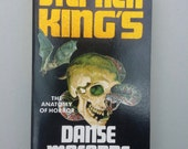 Danse Macabre by Stephen King vintage paperback book, retro Horror