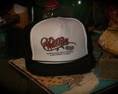 Vintage NOS Willie Nelson Mesh Trucker Hat