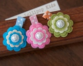 Toddler Hair Clip Baby Hair Clip Infant Hair Clip Kids Hair Clip  Felt Flower Hair Clip Set