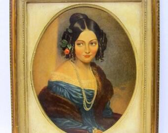 Borghese Chalkware Portrait