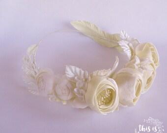 No. 26. Bridal flower crown.