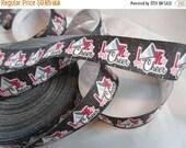 """Cheer ribbon, I love Cheer, Sports ribbon, 7/8"""" Ribbon, grosgrain ribbon, wholesale ribbon, RN14762"""