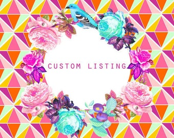 Custom wholesale order for Roxy / 24 BOUQUET leather necklaces