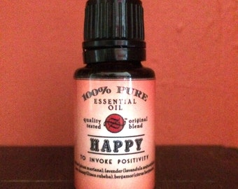 Happy Essential Oil Blend - 15 ml
