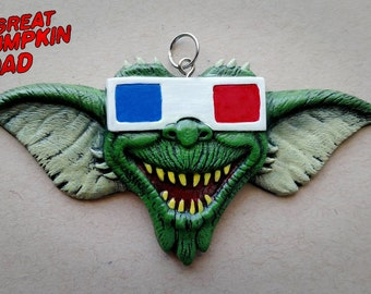 3D Creature Feature Pendant (4.5 in X 2.5 in)