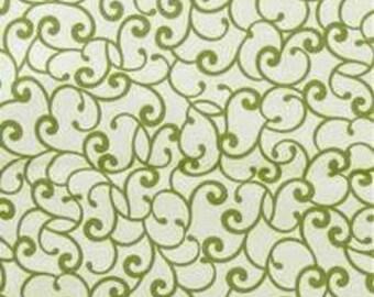 Squash Blossom Scroll