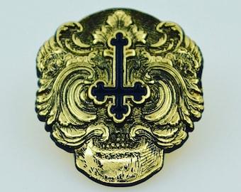 Ramon Maiden limited edition brass finish pins.