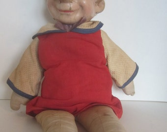 Vintage  Pinocchio Doll with  Composition Head from the 1920's