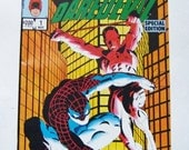 25% Off Storewide Sale 1984 Spider-Man And Daredevil Special Edition Volume One Number One Marvel Comic Book