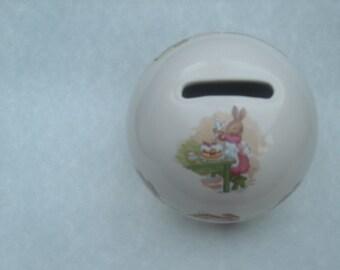 Royal Doulton Bunnykins vintage Money Ball