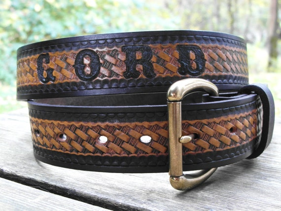 personalized leather belt engraved leather name belt