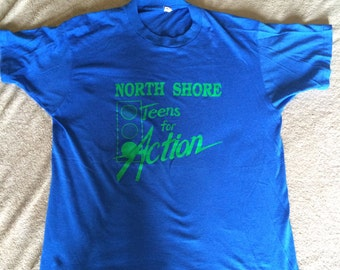 Vintage North Shore Teens for Action T-Shirt