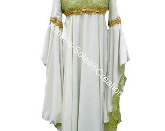 "Elven dress ""Woodland fairy""."