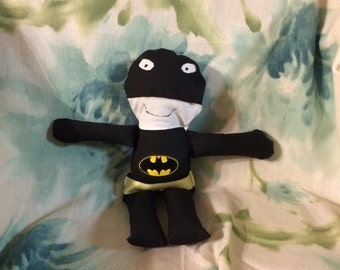 Batman rag doll