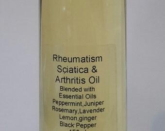Rheumatism sciatica arthritis oil