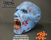 3D Zombie target head for Archery and Airsoft