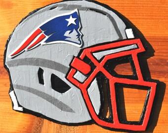 New England Patriots Helmet Sculpture