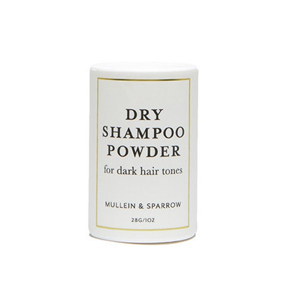 Dry Shampoo for Dark Hair natural clay hair by
