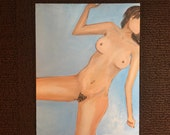 FACELESS SERIES TWO original one of a kind nude oil painting art