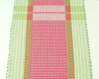 SALE! Hand woven Table Runner, cotton