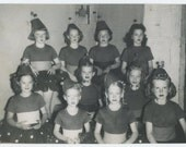 Young Dancers, c1940s: Vintage Snapshot Photo (67485)