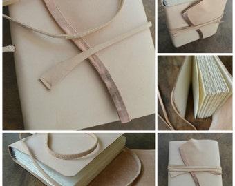 Custom Order Leather Journal Diary Handmade Natural Finish (474D)