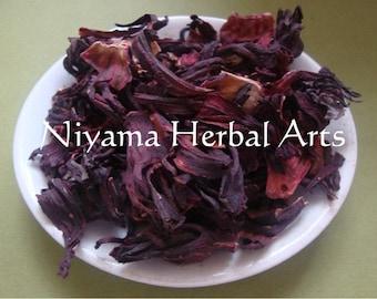 Hibiscus, Hibiscus sabdariffa, Dried Herbs,