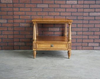 End Table / French Regency End Table  Chairside Table by Henredon