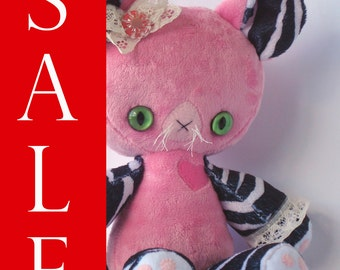Pinky Punk Panther Valentine's Day Sweetheart Plush Doll