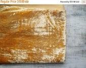 24H FLASH SALE Vintage plush for making teddy bear peach creamy orange light yellow fat quarter