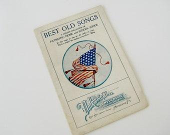 Vintage Patriotic Music Collection,Volkwein Bros. Best Old Songs,Patriotic,Home and School Songs by Volkwein Bros. Music House,Vintage Music